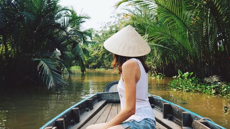 Wisata Vietnam - Sungai Mekong Vietnam (brighttax)