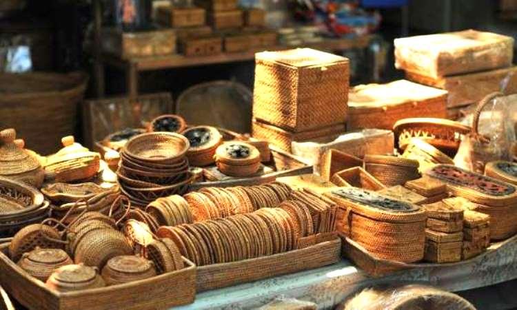 Oleh-oleh Khas Kebumen - Kerajinan Anyaman Bambu (javatravel)