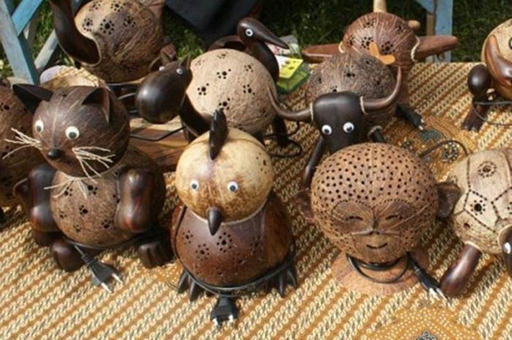 Oleh-oleh Khas Kebumen - Kerajinan Batok Kelapa (tasidola)