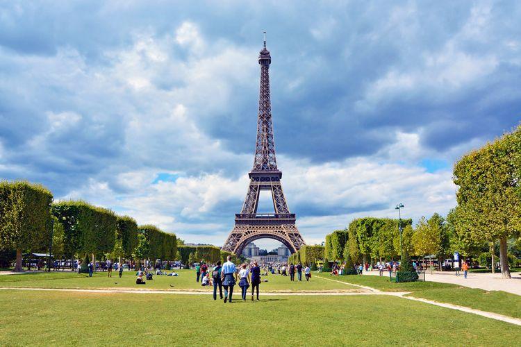 Wisata Eropa - Menara Eiffel (travel.kompas)