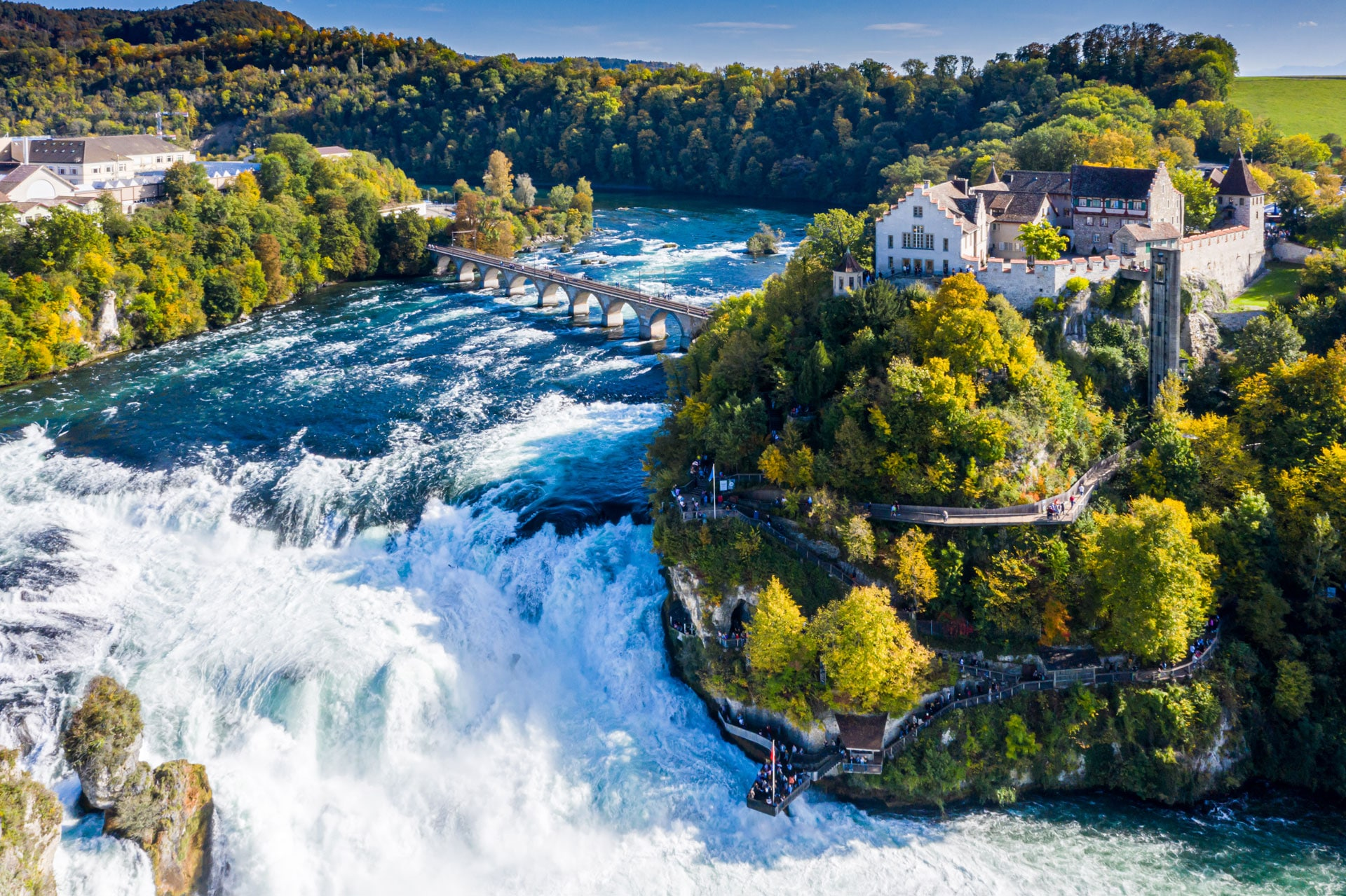 Wisata Eropa - Rhine Falls (tiqets)