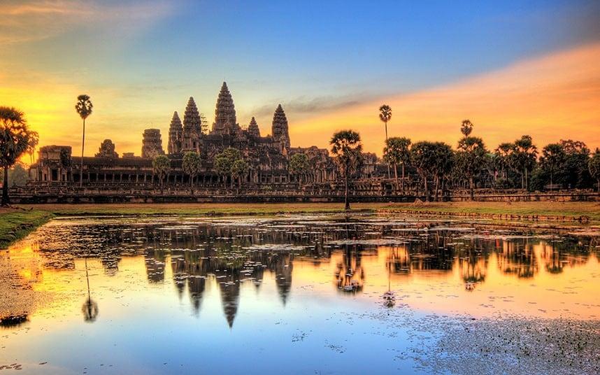 sunrise di Angkor Wat (indonews)