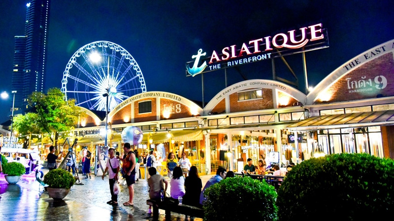 Tempat Wisata Bangkok - Asiatique Night Market (youtube)