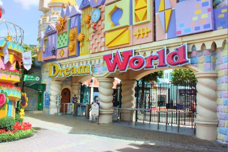 Tempat Wisata Bangkok - Dream World (trip)