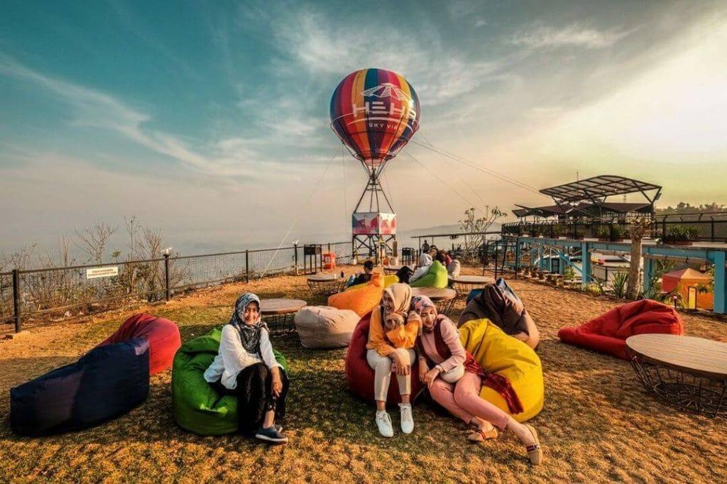 wisata di Jogja - HeHa Sky View (camerawisata)