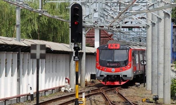 Penampakan Kereta KRL Yogyakarta-Solo (detik)