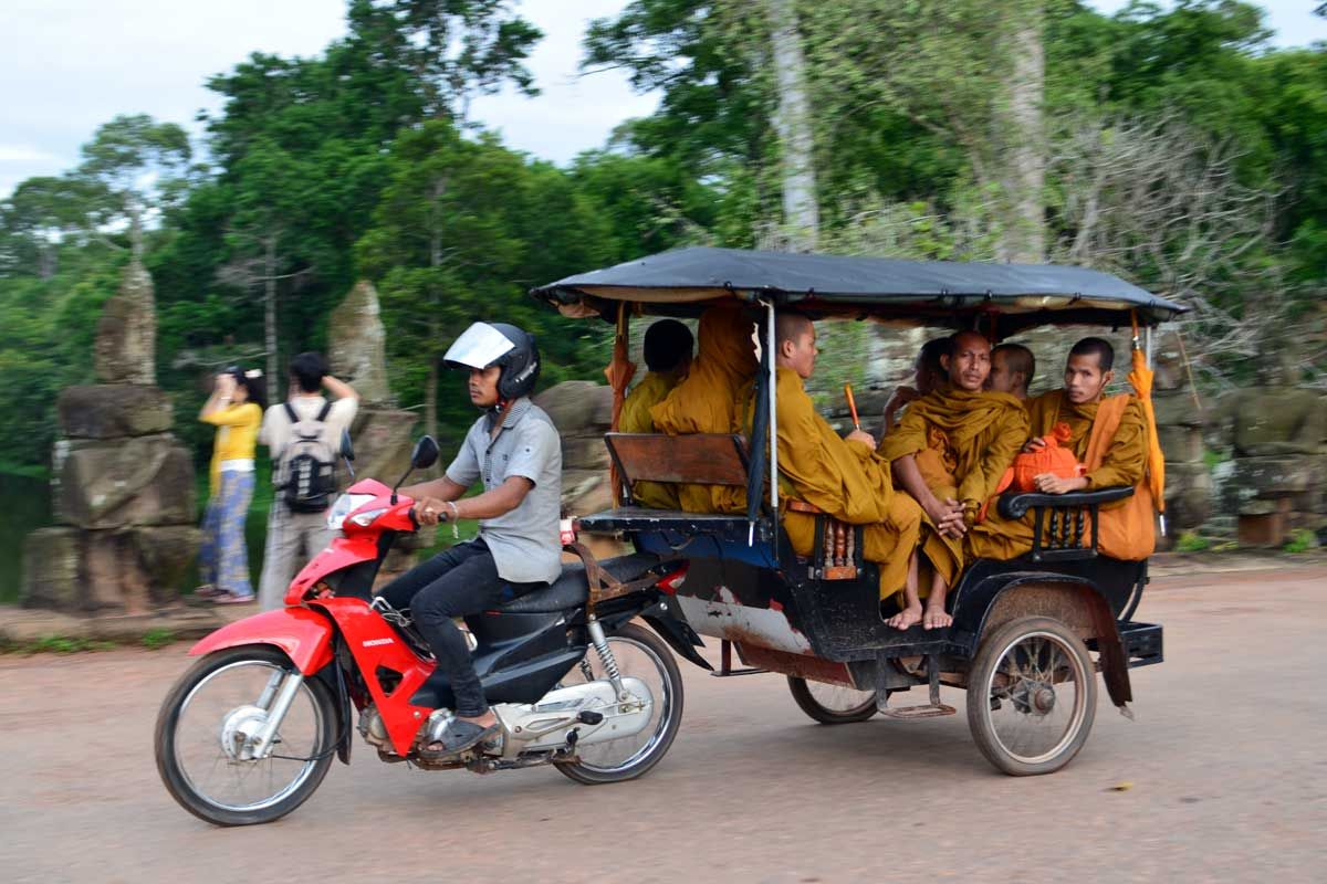 Tuk Tuk Kamboja (pinterest)