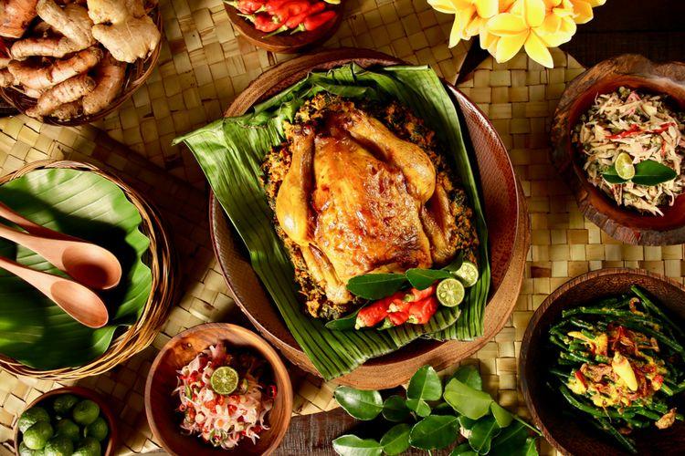 Kuliner Bali - Ayam Betutu Men Tempeh (travelkompas)