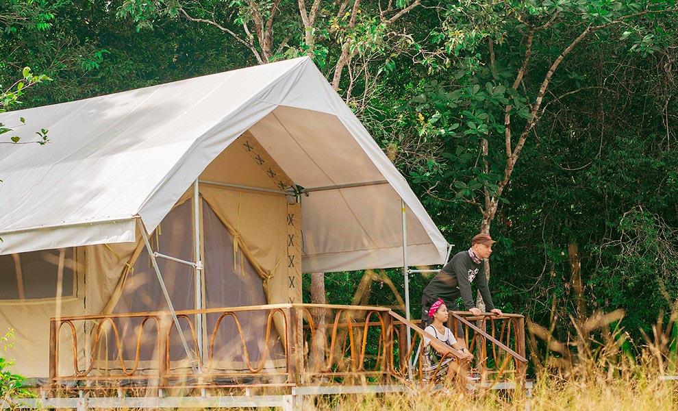 tempat wisata di Kamboja - Cardamom Tented Camp (cardamomtentedcamp)