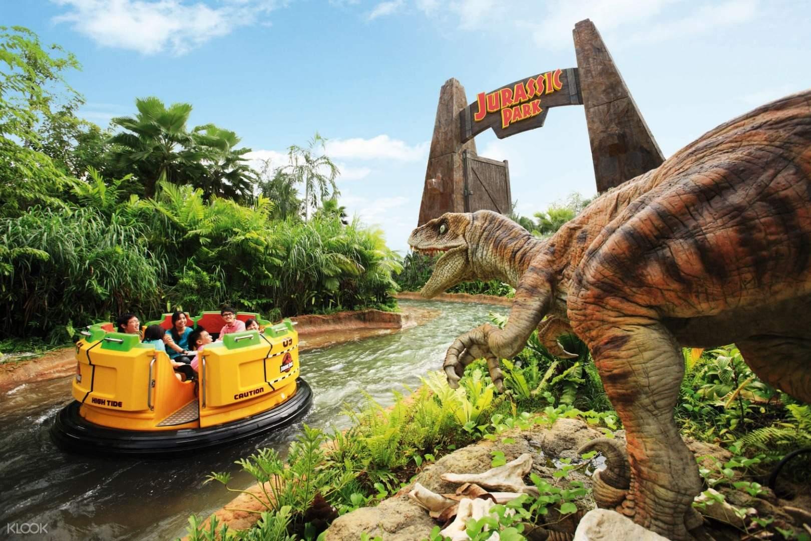 Jurassic Park Rapid Adventure (klook)
