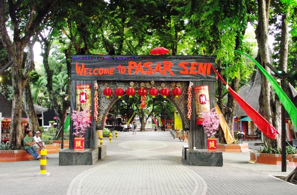 Ancol - Pasar seni (kompasiana)