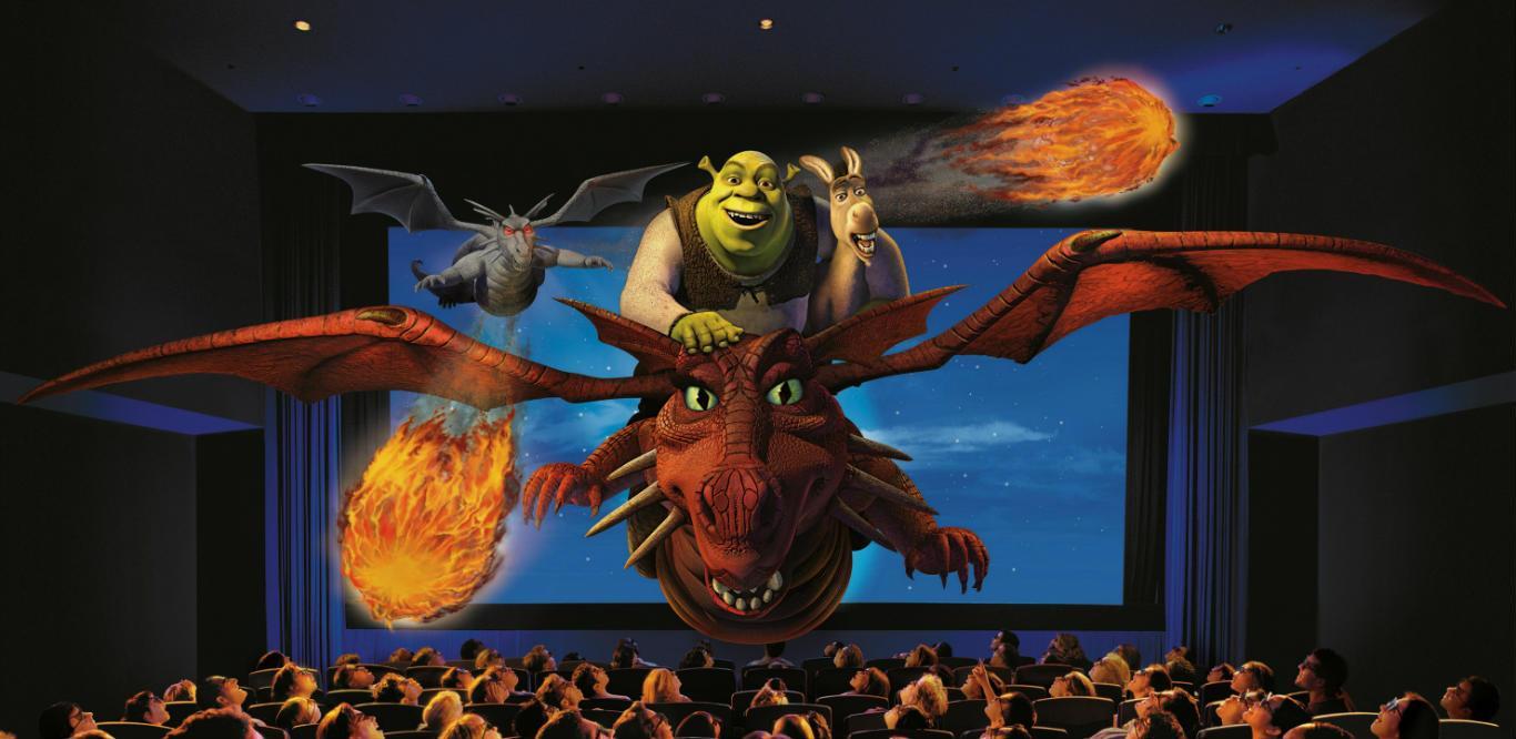 Shrek 4D Adventure (rwsentosa)