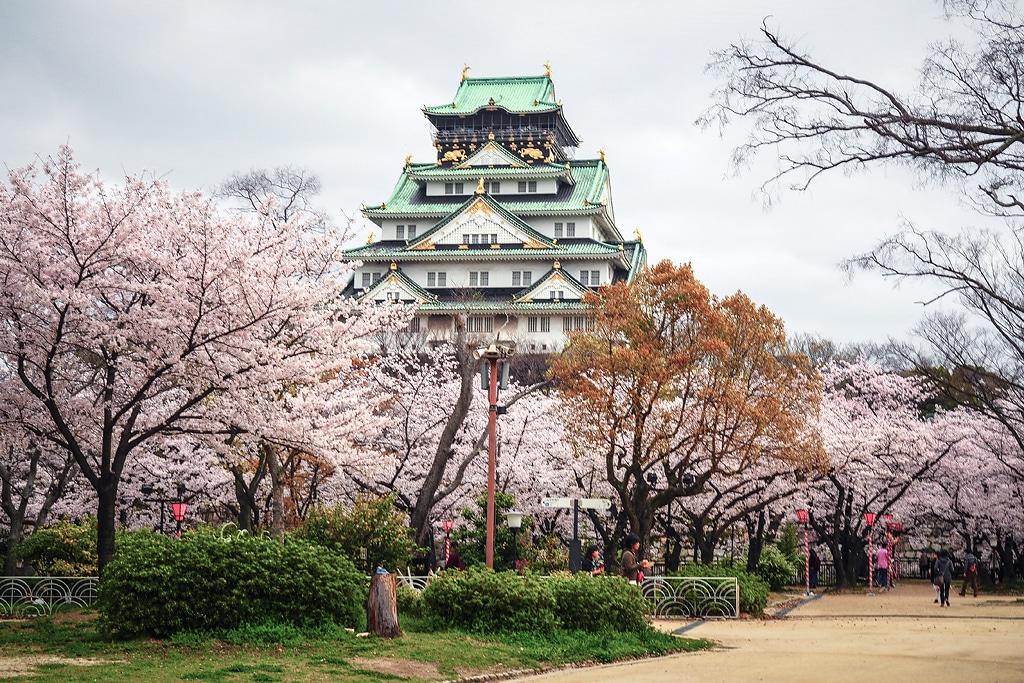 Osaka Castle - Taman Nishinomaru (goikuzo)
