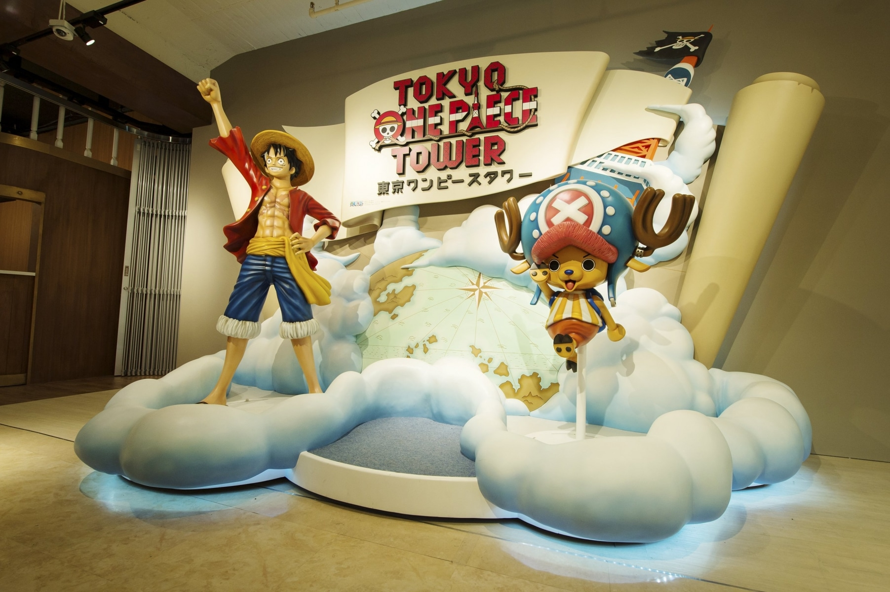 Tokyo Tower - Tokyo One Piece Tower (befreetour)