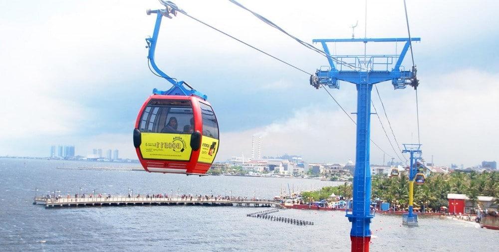 Ancol - gondola Pantai Ancol (goodnewsfromindonesia)