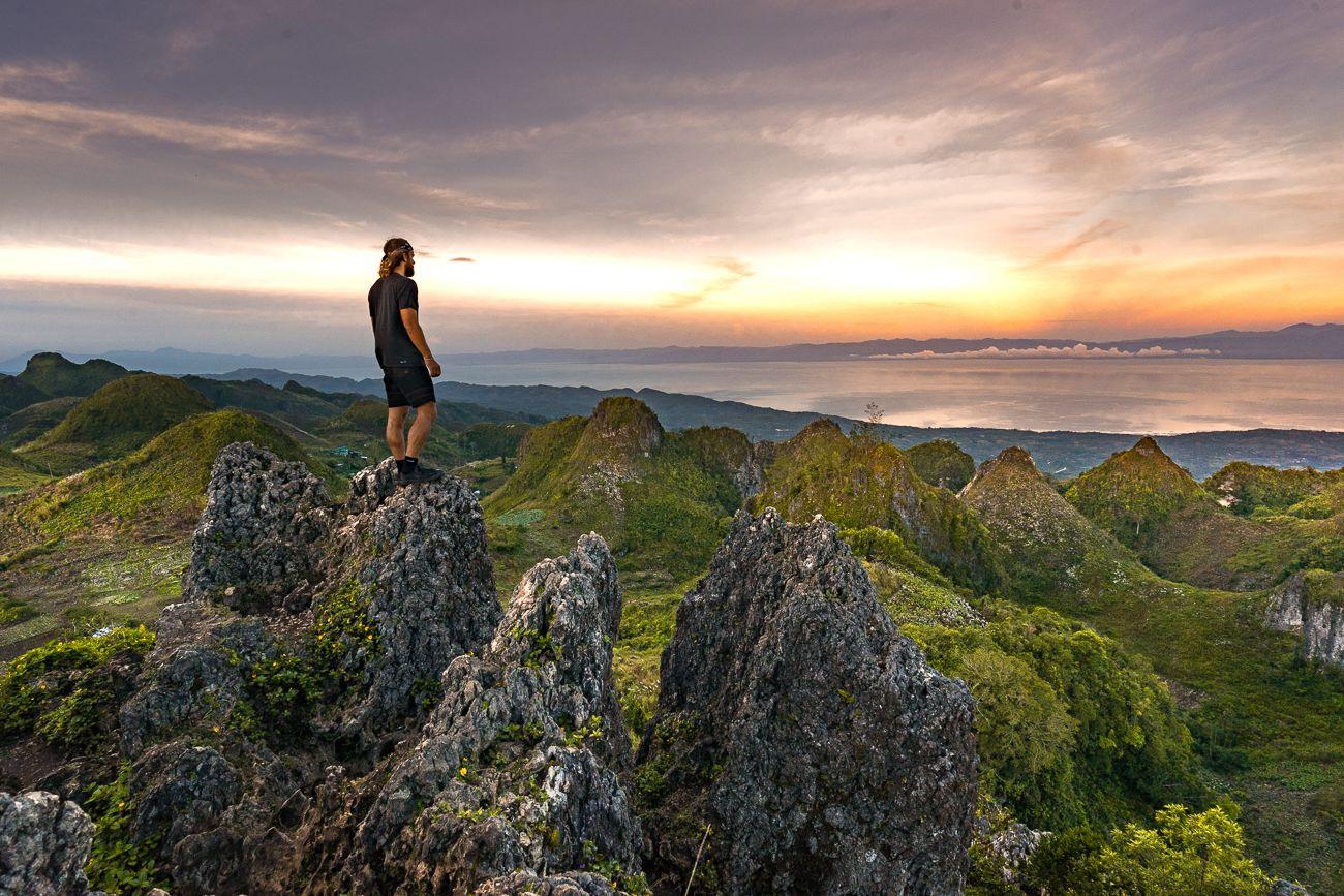 tempat wisata Filipina - Osmena Peak (journeyera)