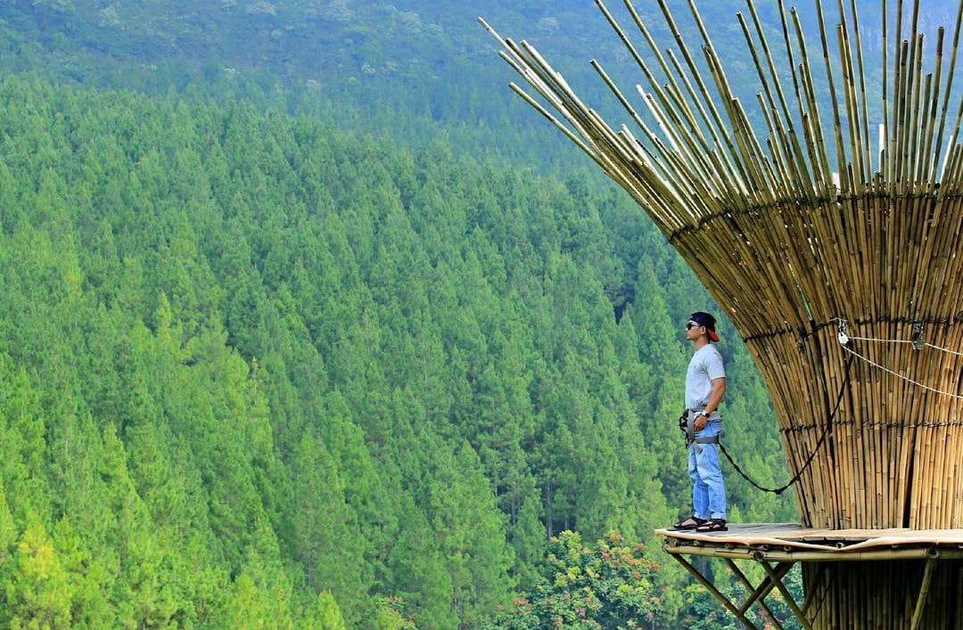 The Lodge Maribaya - Bamboo Sky (tempatasik)