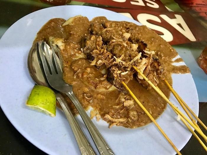 Kuliner Medan - Sate Memeng (detikfood)