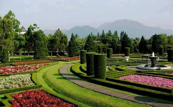 Taman Bunga Nusantara - Taman Perancis (kompasiana)