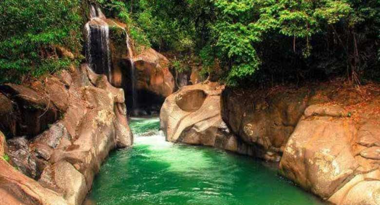 Wisata di Sumatera Barat - Air Nyarai (fimela)
