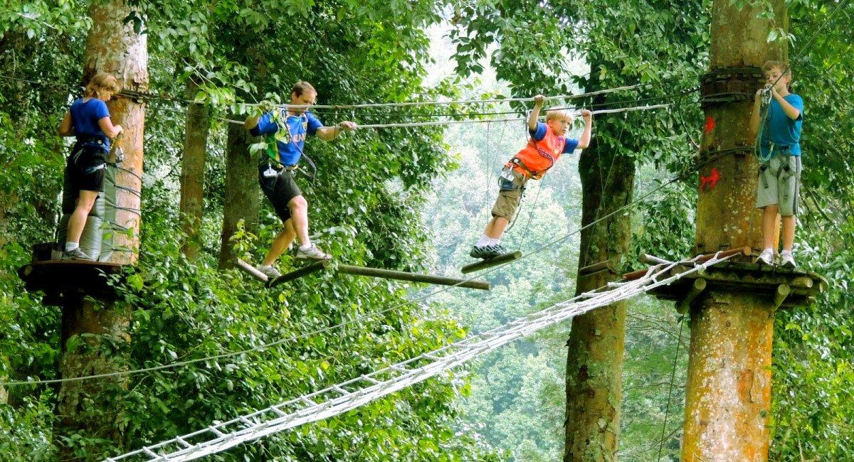 Bali TreeTop Adventure Park (travellink-indonesia)