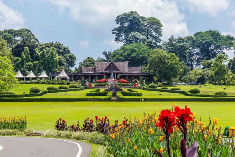 Tempat Wisata di Bogor yang Paling Murah - Kebun Raya Bogor (kompas)