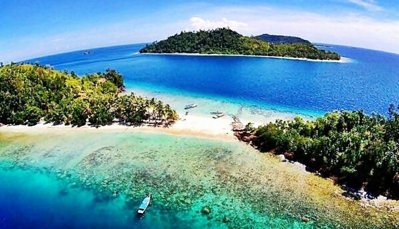 Wisata di Sumatera Barat - Pulau Pemutusan (jelajahpulau)