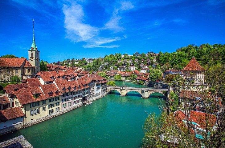 Tempat wisata terindah dunia - Kota Bern (twitter)