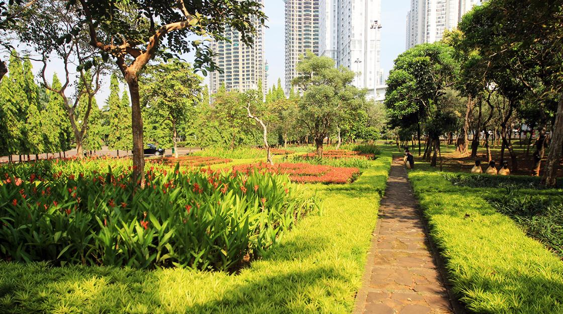 Tempat wisata alam di Jakarta - Taman Cattleya (hargatiket)