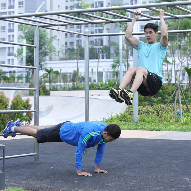 Street workout (scientiasquarepark)
