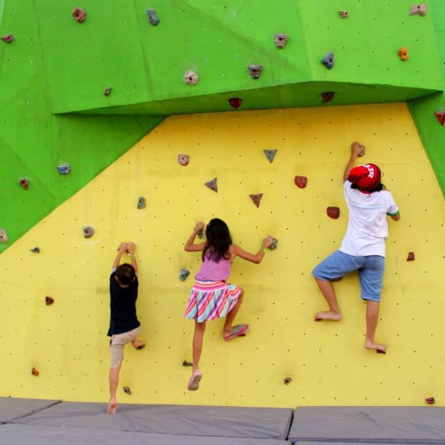 Scientia Square Park - Wall climbing (scientiasquarepark)